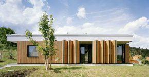 Diseño casa un piso tres habitaciones