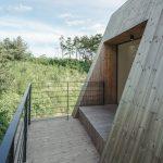 Diseño de muros inclinados de madera