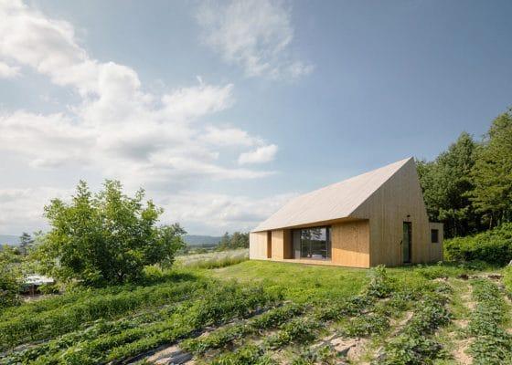 Foto casa de campo moderna madera