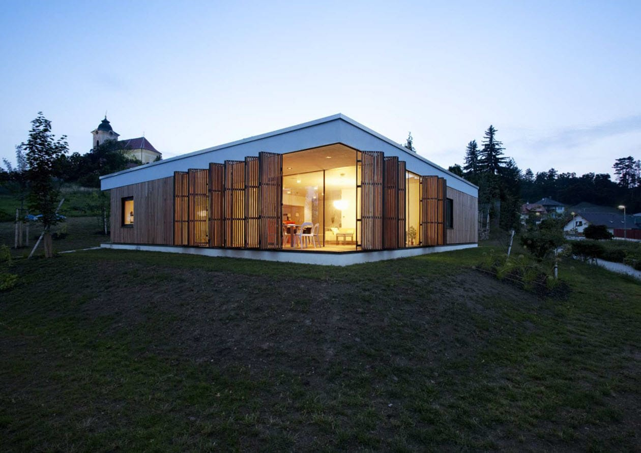 Moderna casa de un piso tres dormitorios construye hogar - Casa de una planta ...