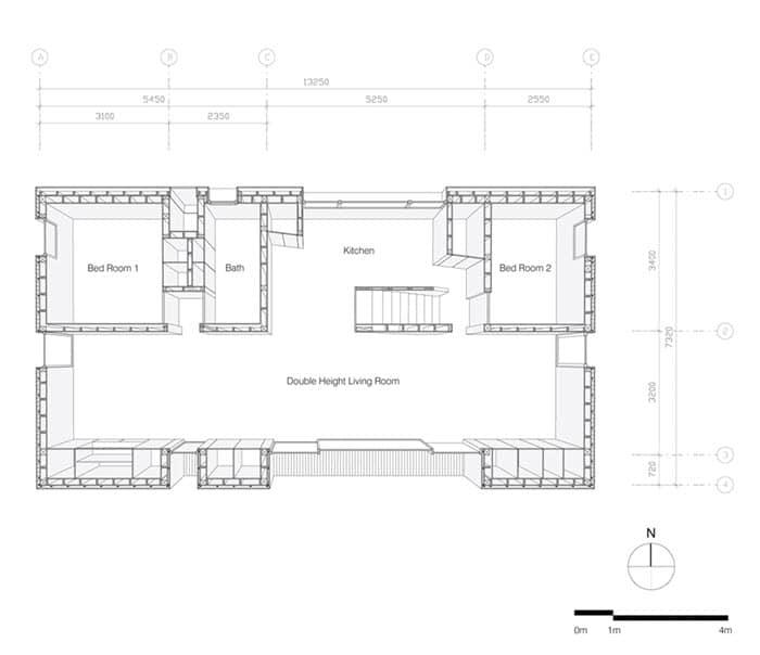 Dise o moderna casa de campo madera construye hogar - Planos de casas pequenas de campo ...