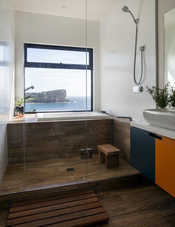 Cuartos De Baño Estilo Rustico:cuarto-de-bano-estilo-rustico-moderno