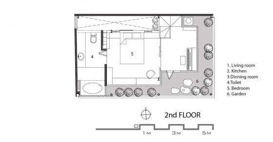 plano-del-tercer-piso-casa-pequena