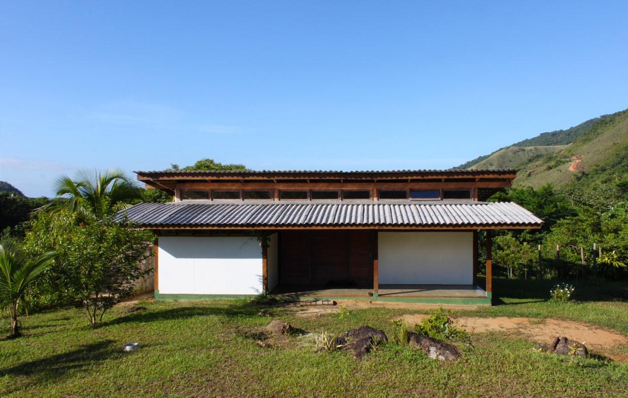Dise o de casa de campo peque a de madera construye hogar - Diseno casas de campo ...