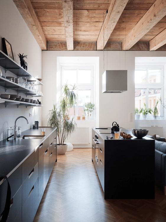 Dise o departamento peque o plano construye hogar for Diseno departamento pequeno