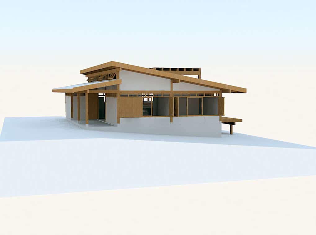 Dise o de casa de campo peque a de madera construye hogar - Casa pequena de madera ...
