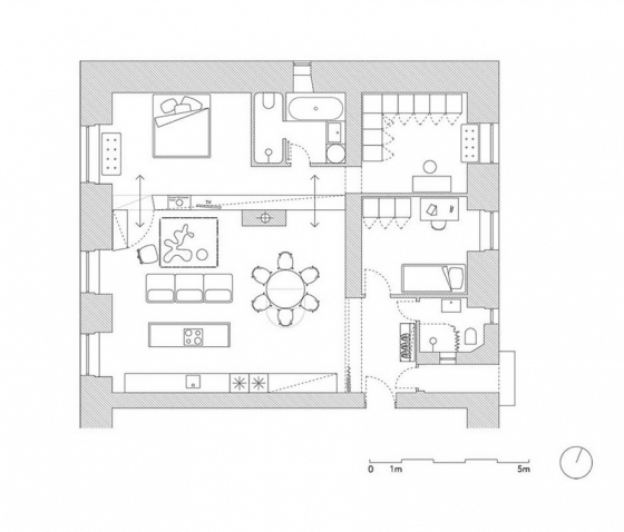 plano-departamento-dos-dormitorios