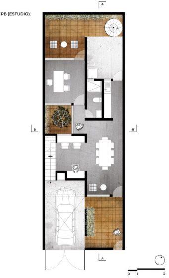 planos-de-casa-de-dos-pisos-pequena-independientes