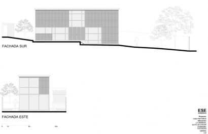 Planos fachadas casas 2 pisos
