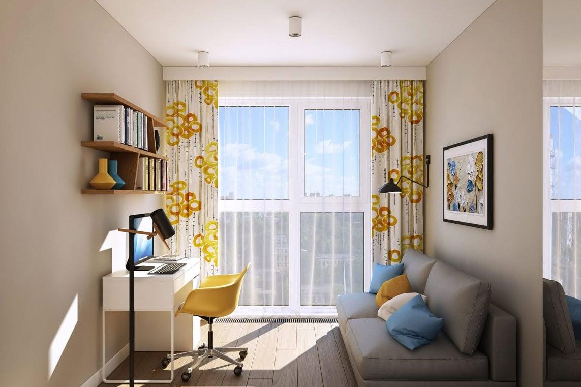 Departamento peque o para pareja joven construye hogar for Decoracion para estudios pequenos