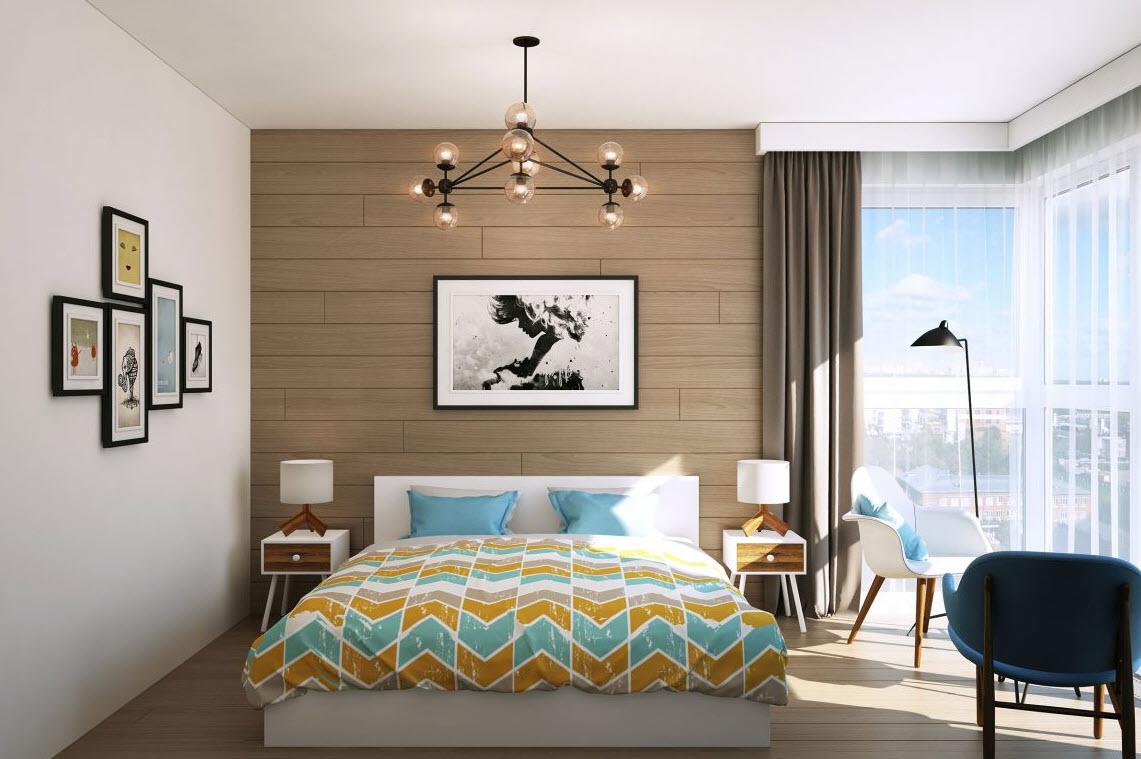 Departamento peque o para pareja joven construye hogar - Diseno de interiores dormitorios pequenos ...