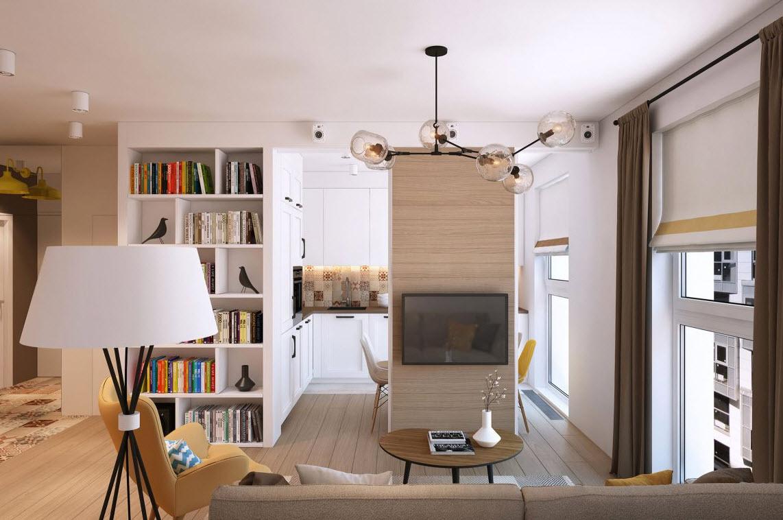 Departamento peque o para pareja joven construye hogar for Diseno de interiores departamento pequeno