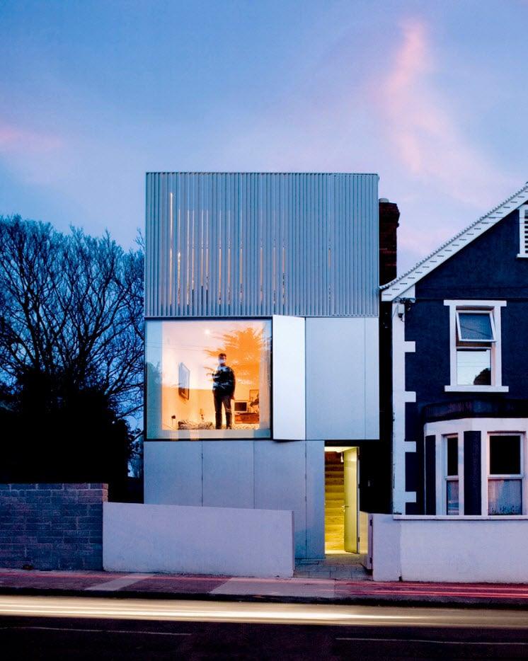 Dise o casa moderna minimalista construye hogar for Casa minimalista 2017