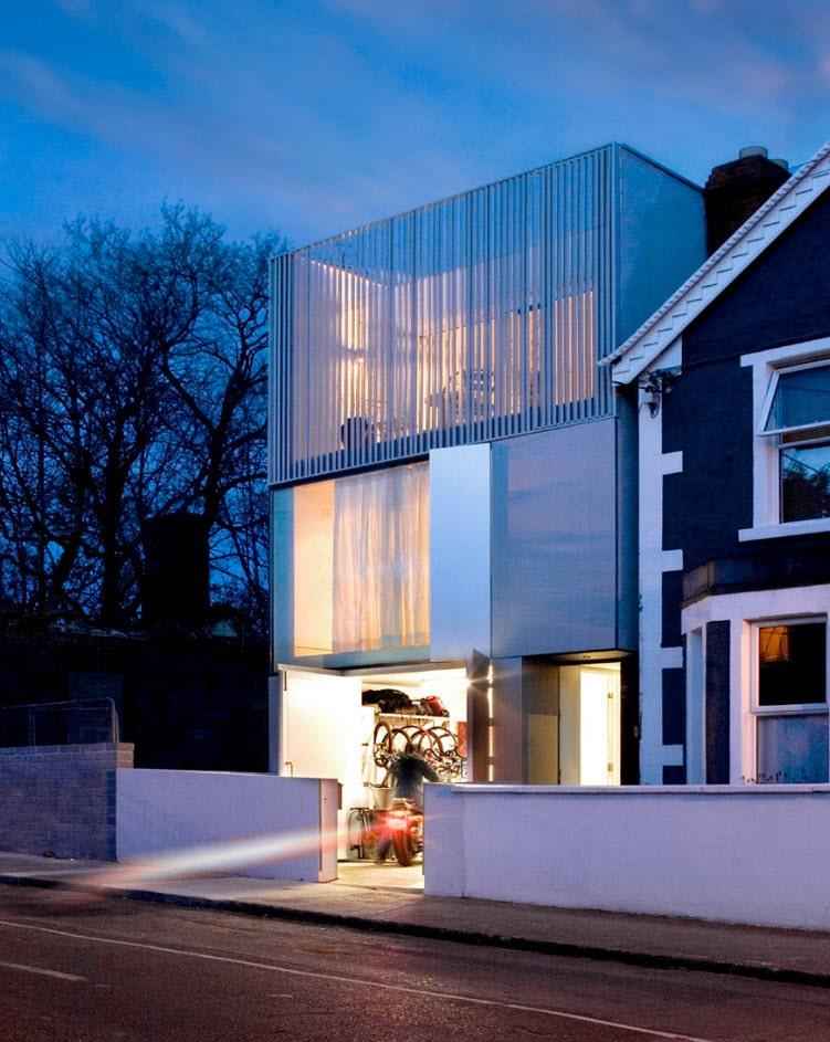 Dise o de casa moderna minimalista construye hogar - Diseno casa moderna ...