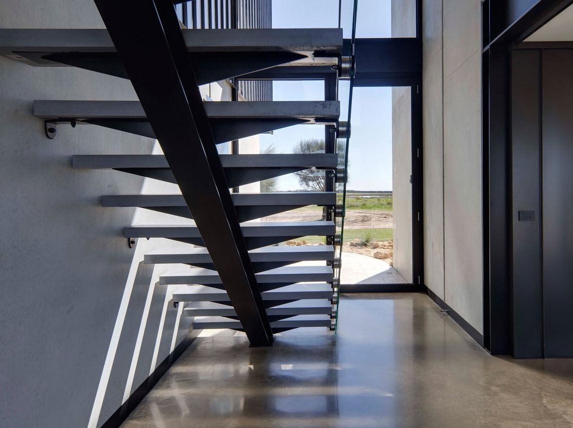 Dise o de escaleras modernas construye hogar for Construye hogar
