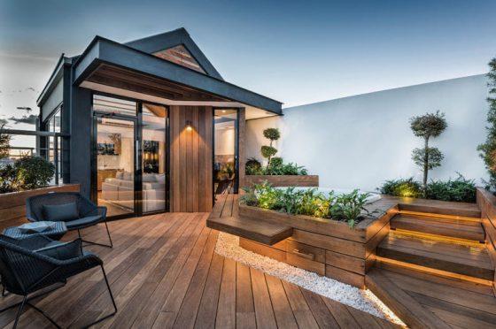 Foto de terraza en azotea