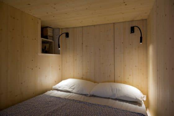 Espacio para dormitorio pequeño