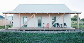 diseo de casa de campo moderna estructura combina lo tradicional y elementos