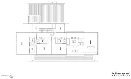 Plano casa grande de dos pisos