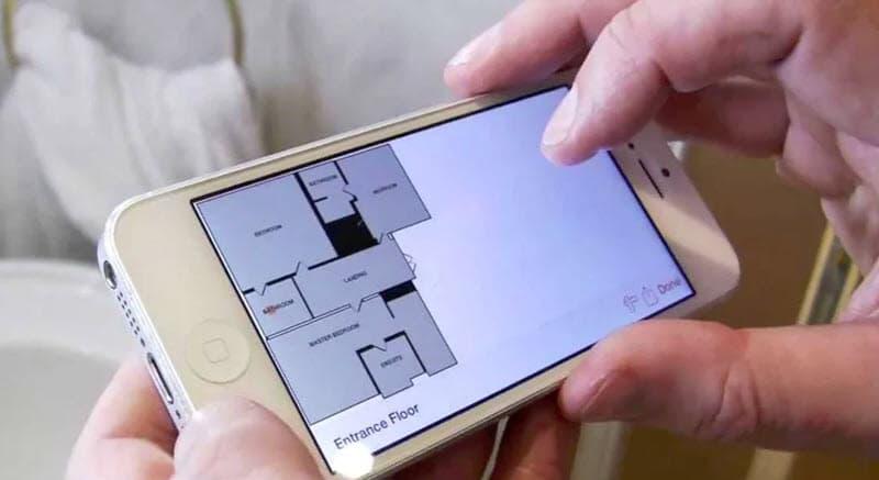 Planos de casas con aplicaciones android e ios construye for Aplicacion para planos