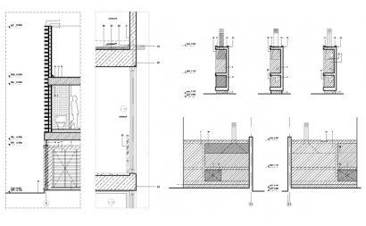Detalles de estructuras casa hormigón