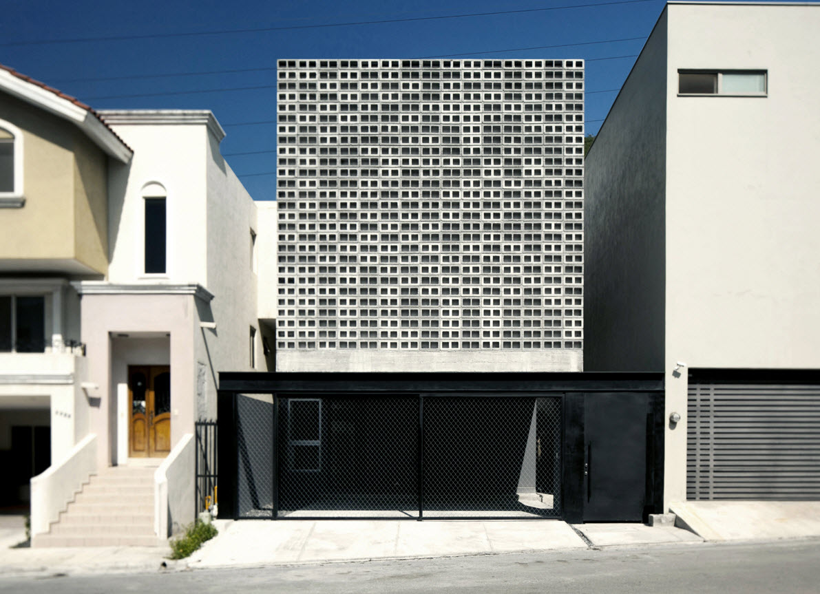 Planos casa dos pisos 9 x 20 de hormig n construye hogar - Celosias de hormigon ...