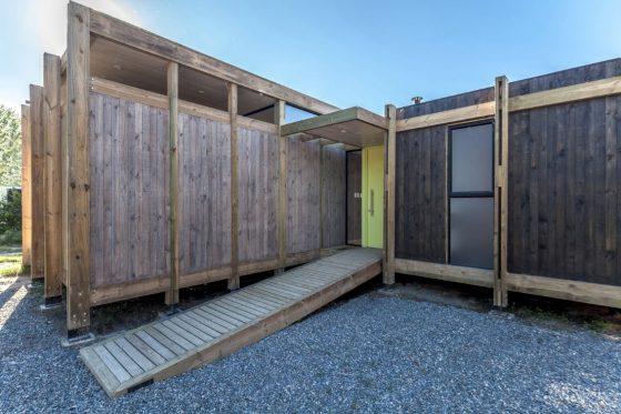 Diseño de fachada principal casa campo