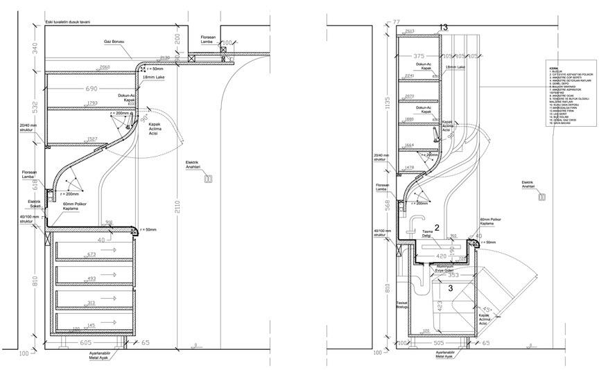10 originales ideas de dise os de cocina construye hogar for Plano de cocina de 3x5