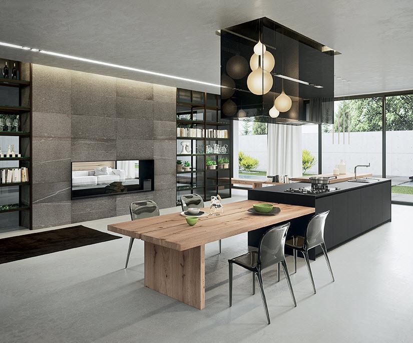 combinando lo moderno y rstico en la decoracin de cocinas