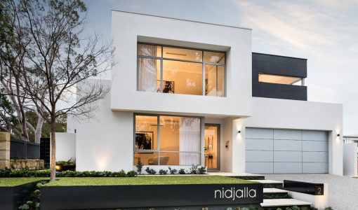 casa moderna de dos pisos lineas de diseo sencillas y elegantes