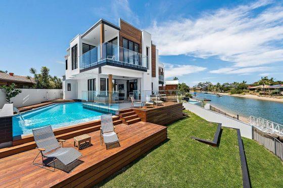 Diseño casa moderna dos pisos