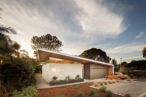 Diseño casa moderna de una planta