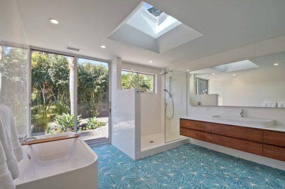 Diseño de cuarto de baño principal