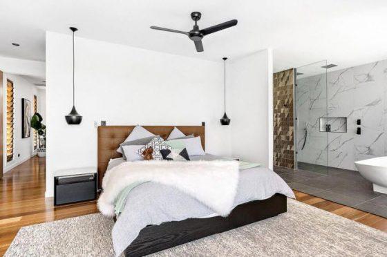 Dormitorio principal con tina