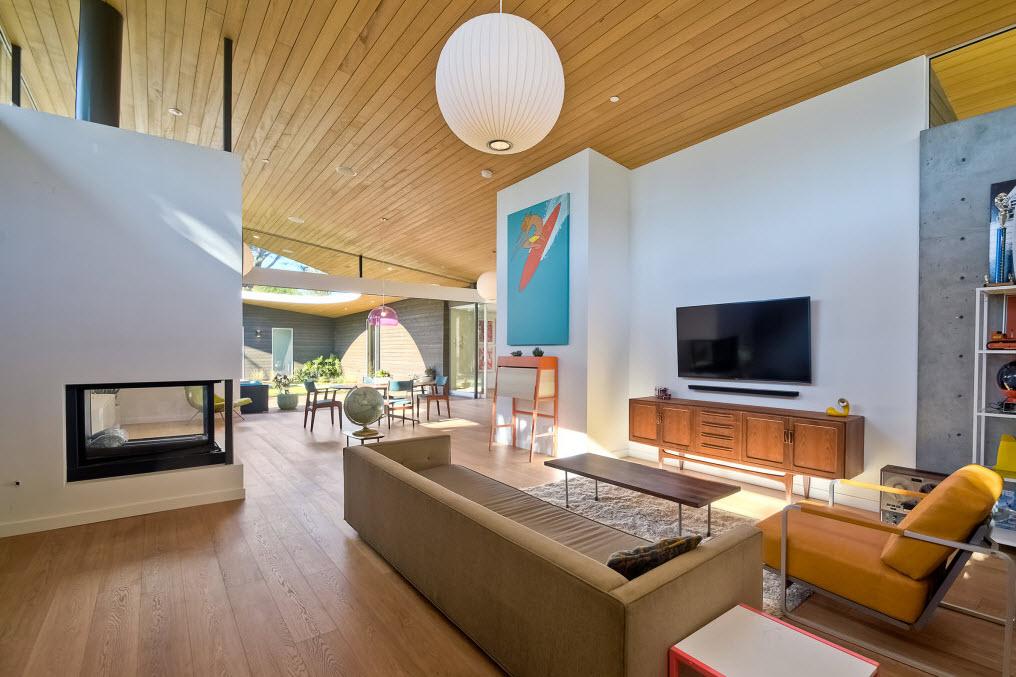 Dise o de sala moderna construye hogar - Construye hogar ...