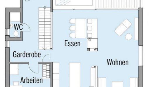 planos de casa de dos pisos ambientes interiores que utiliza nuevas tecnologas