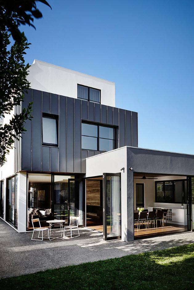 diseo casa moderna dos pisos