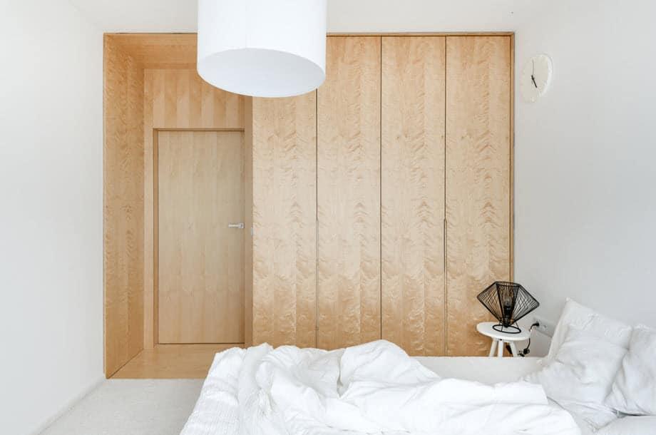 Diseño minimalista departamento