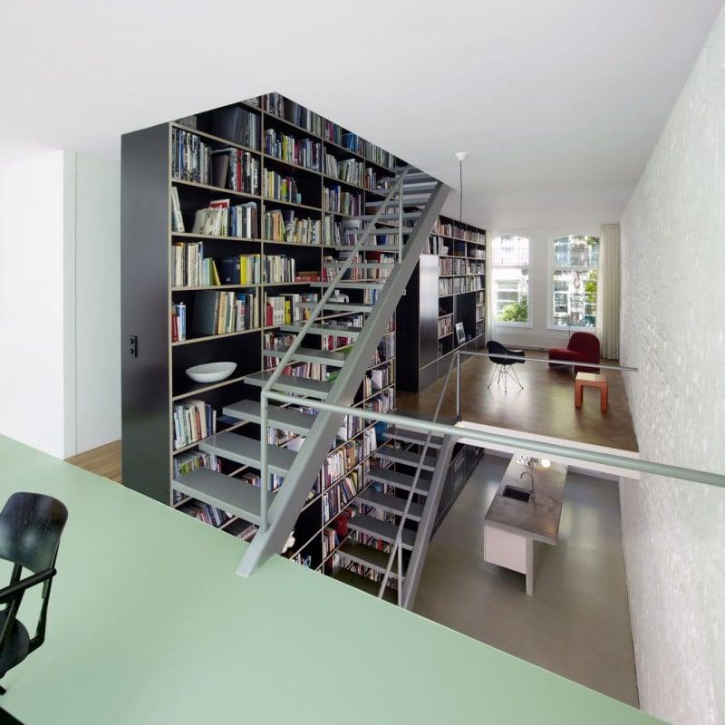 Loft dise o y planos de una moderna casa construye hogar for Casa moderna tipo loft