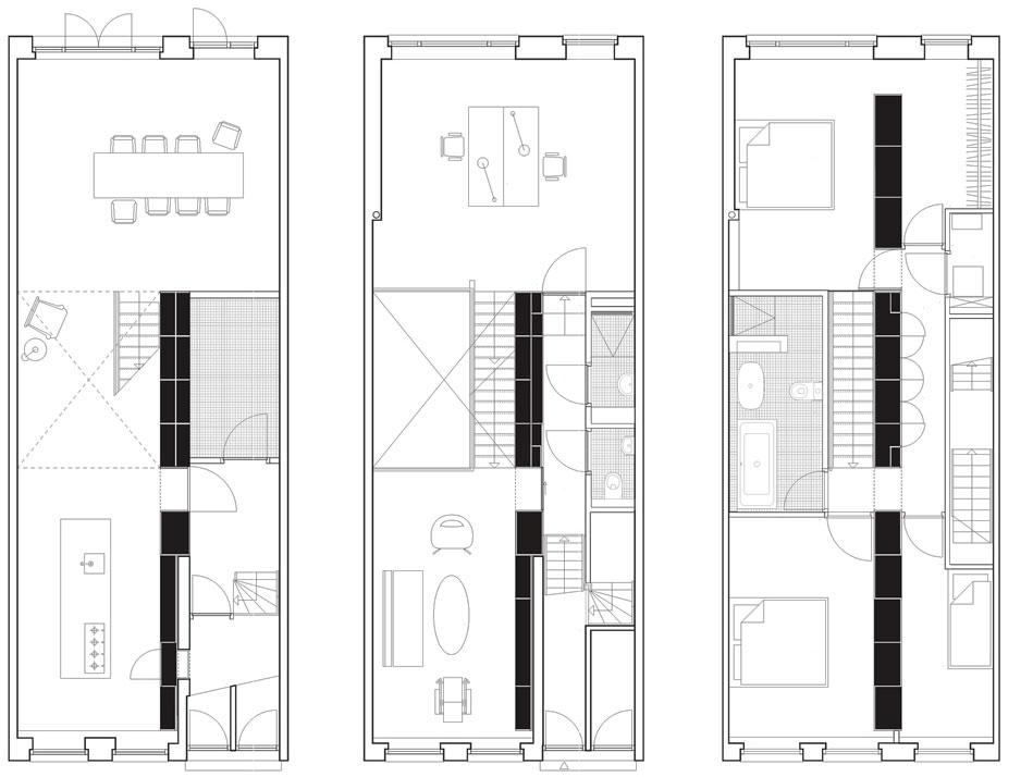 Loft dise o y planos de una moderna casa construye hogar for Arquitectura planos y disenos