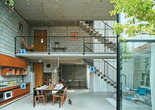 Modelo de una casa econ mica y bien dise ada construye hogar for Materiales para hacer un piso