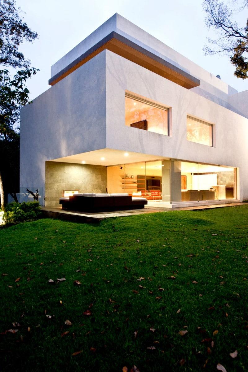 Dise o de casa contempor nea en el campo construye hogar for Disenos de casas de campo pequenas