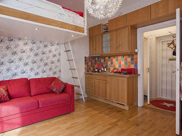 30 mejores dise os de departamentos peque os construye hogar for Muebles para apartamentos pequenos