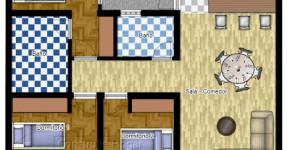 Departamentos peque os planos y dise o en 3d construye for Realizar planos de casas