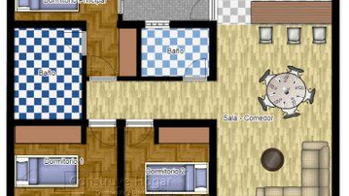 Photo of Plano de casa cuadrada [Modelos]