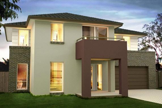 Fachadas de casas modernas estilo oriental construye hogar - Pintado de fachadas ...