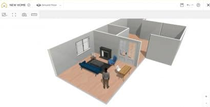 HomebyMe programa para hacer planos online