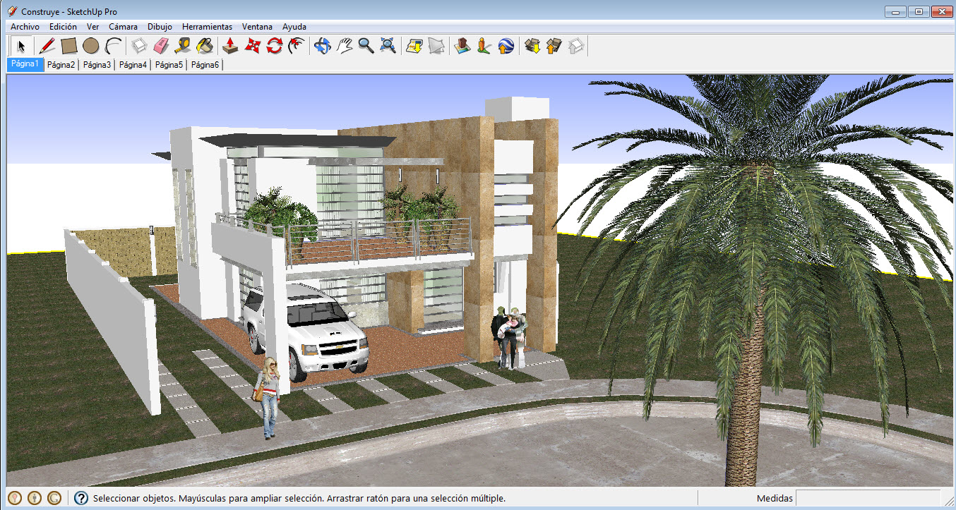 Programas para dise ar casas en 3d gratis construye hogar for Hacer planos 3d
