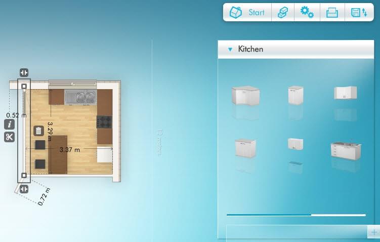 Diseñar cocina, hacer los planos y elegir estilos y colores ...