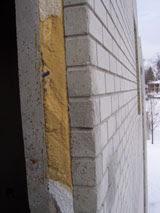 Muro de viviendas prefabricadas de hormigón